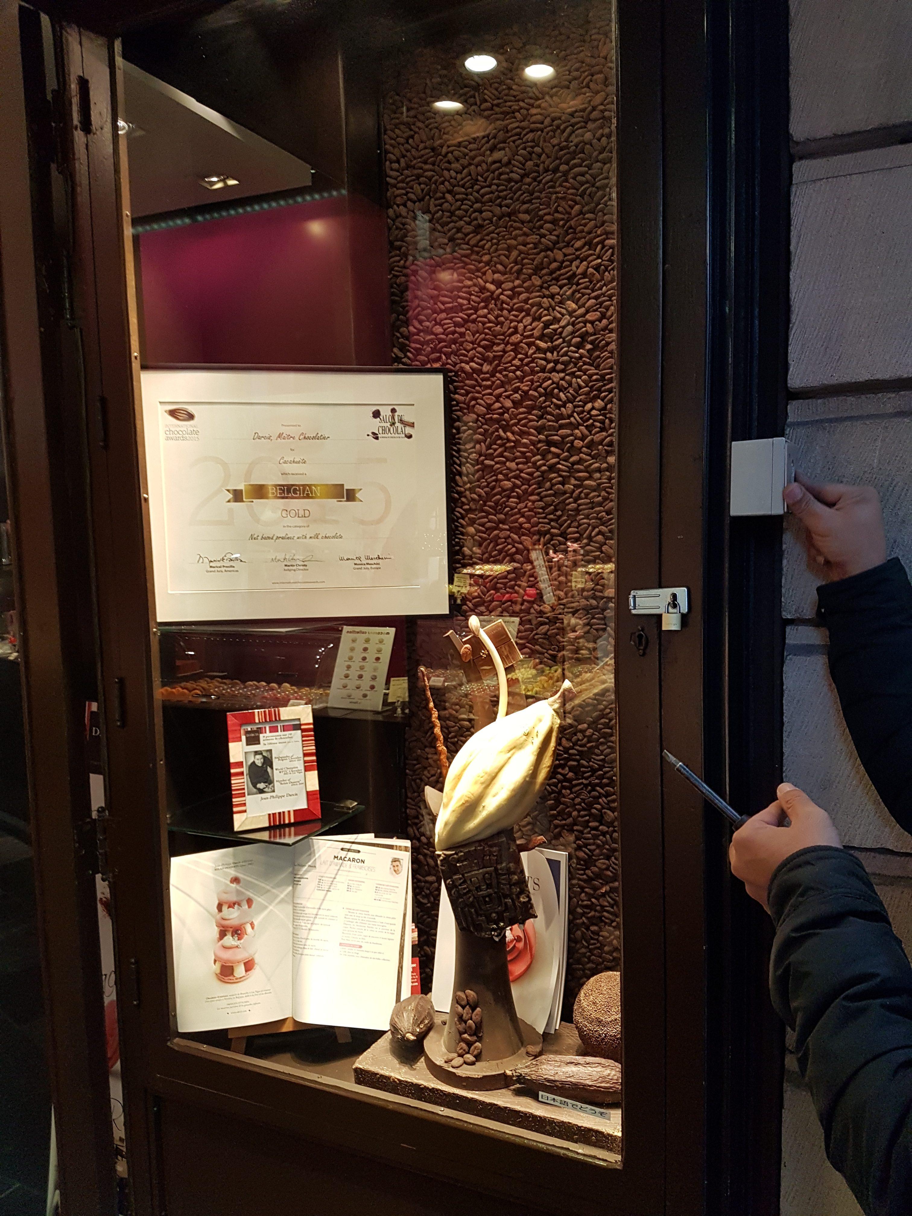Ouverture de porte blindée par Serrurier Bruxelles OpenLock